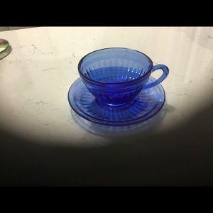 Cobalt Blue Cup & Saucer